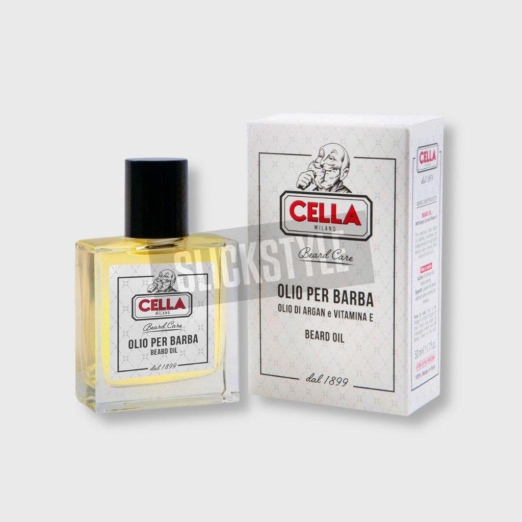 cella milano beard oil
