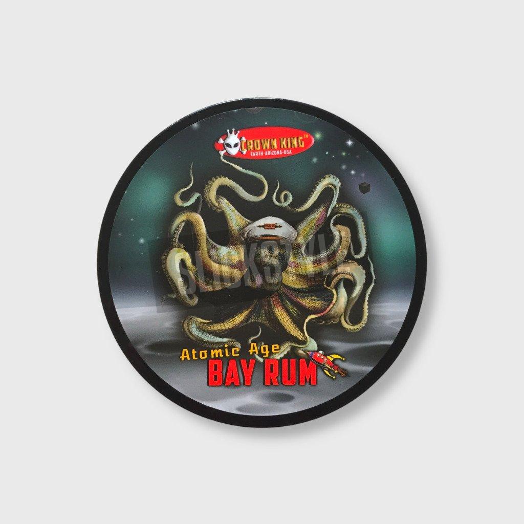 phoenix artisan atomic age bay rum shaving soap slickstyle