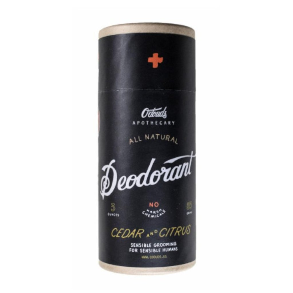 odouds deodorant citrus cedar new