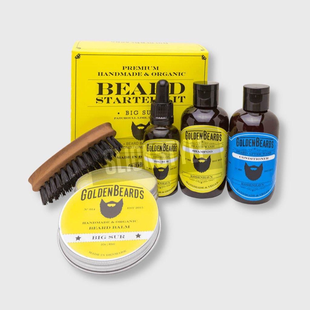 golden beards beard starter kit