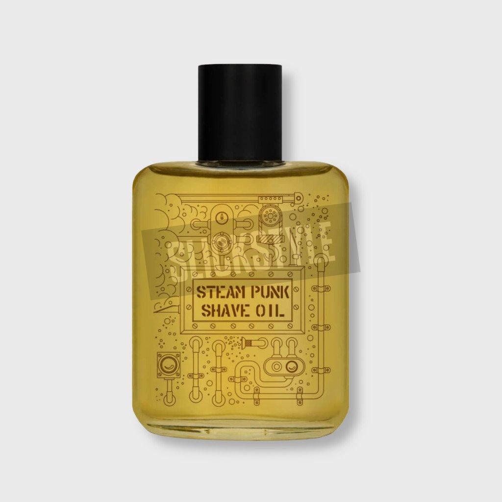 pan drwal steam punk shave oil