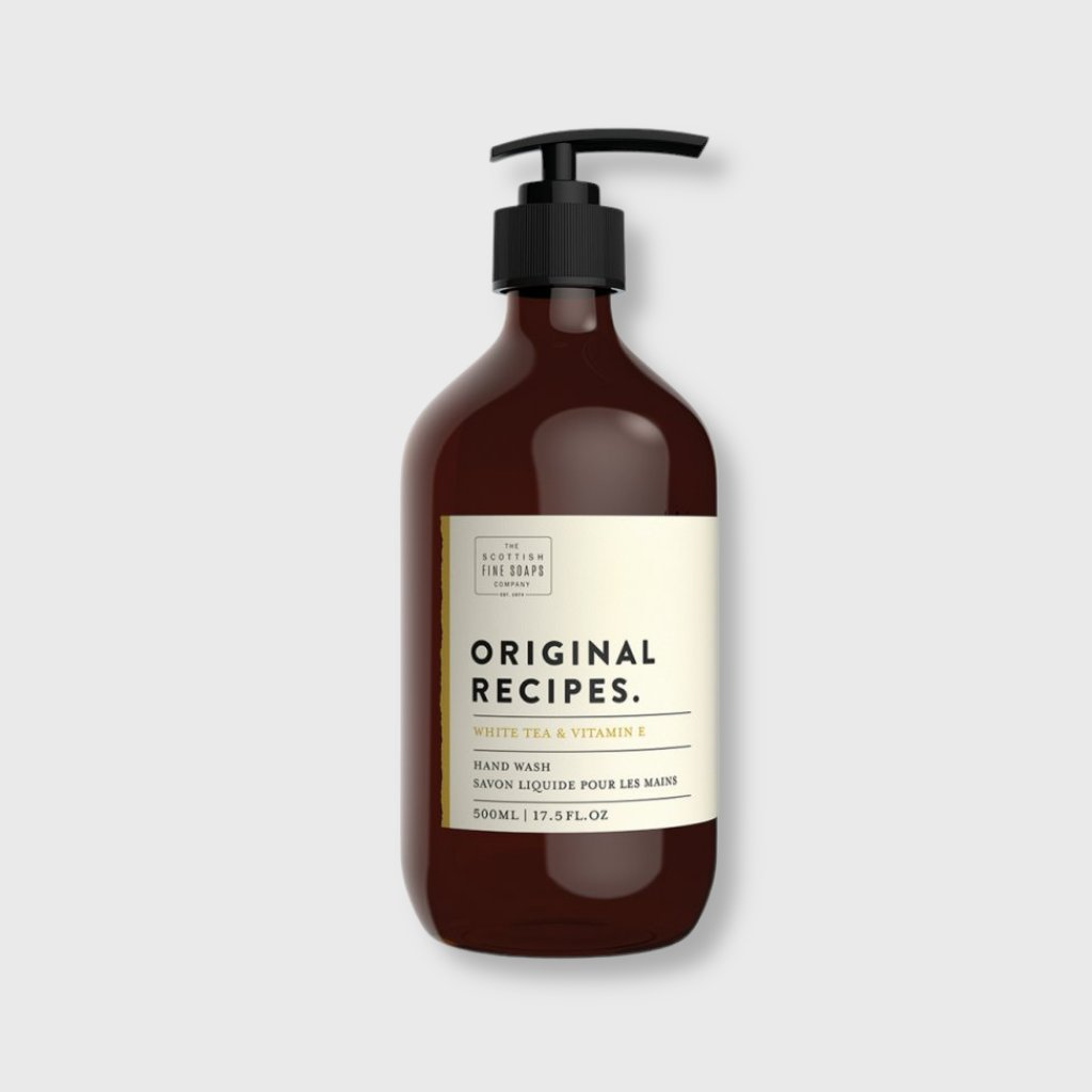 scottish fine soaps tekute mydlo na ruce bily caj a vitamin e 500ml