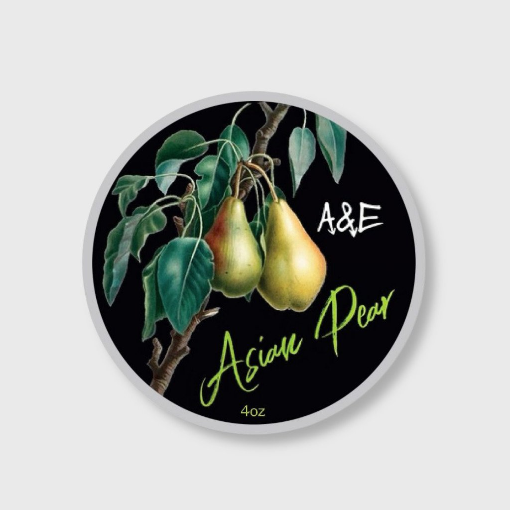 ariana and evans asian pear shaving soap