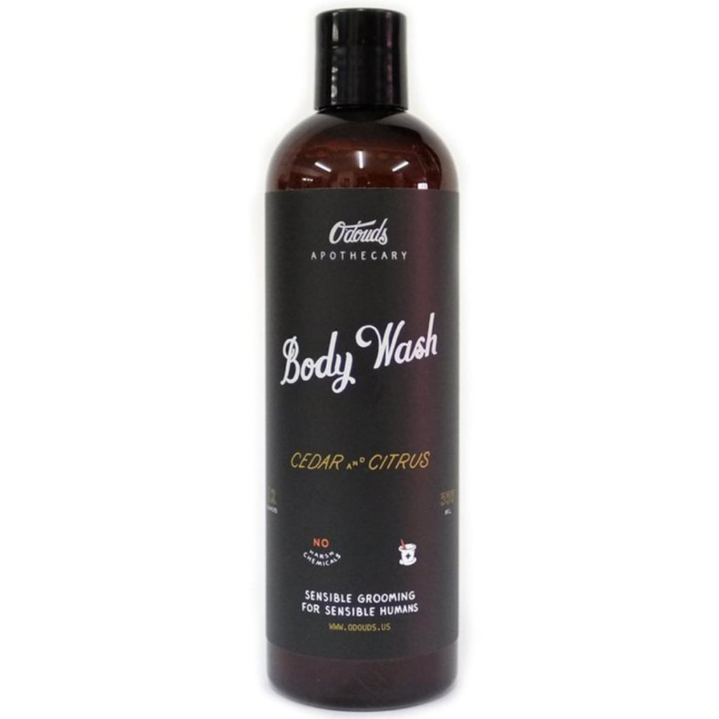 odouds body wash cedar citrus pansky sprchovy gel min