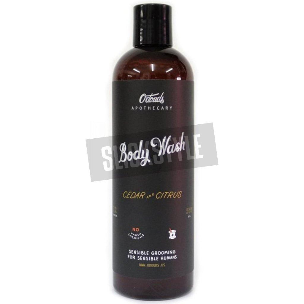 odouds body wash cedar citrus pansky sprchovy gel min