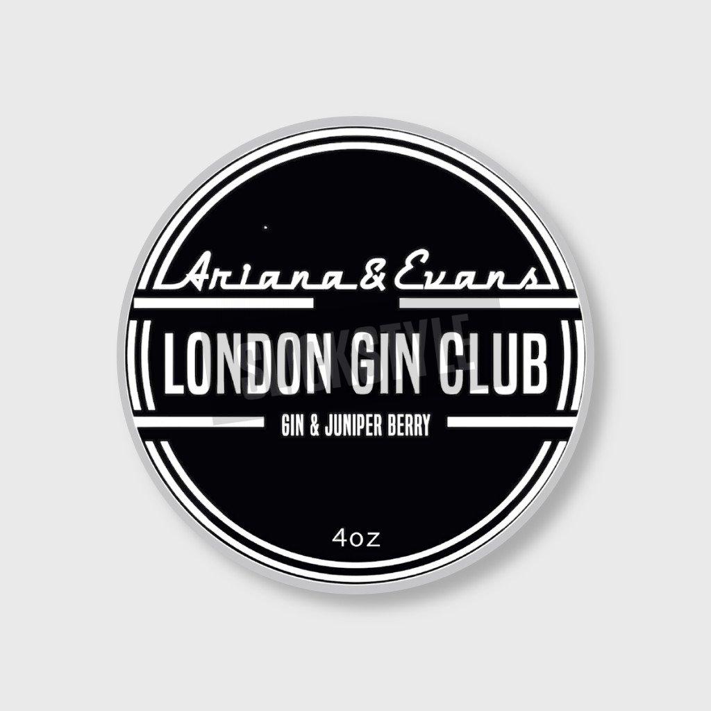 ariana and evans london gin club shaving soap