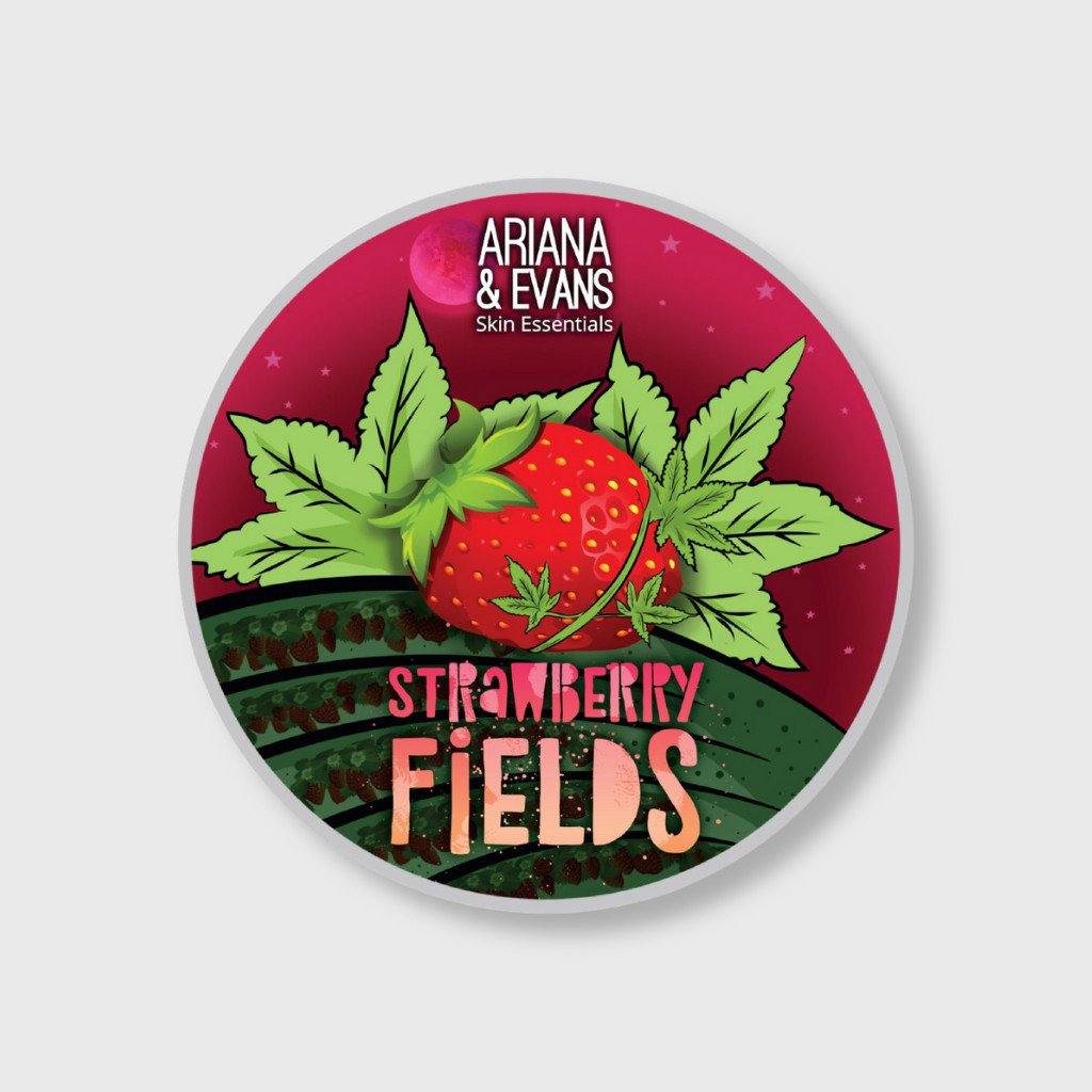 ariana and evans strawberry fields shaving soap