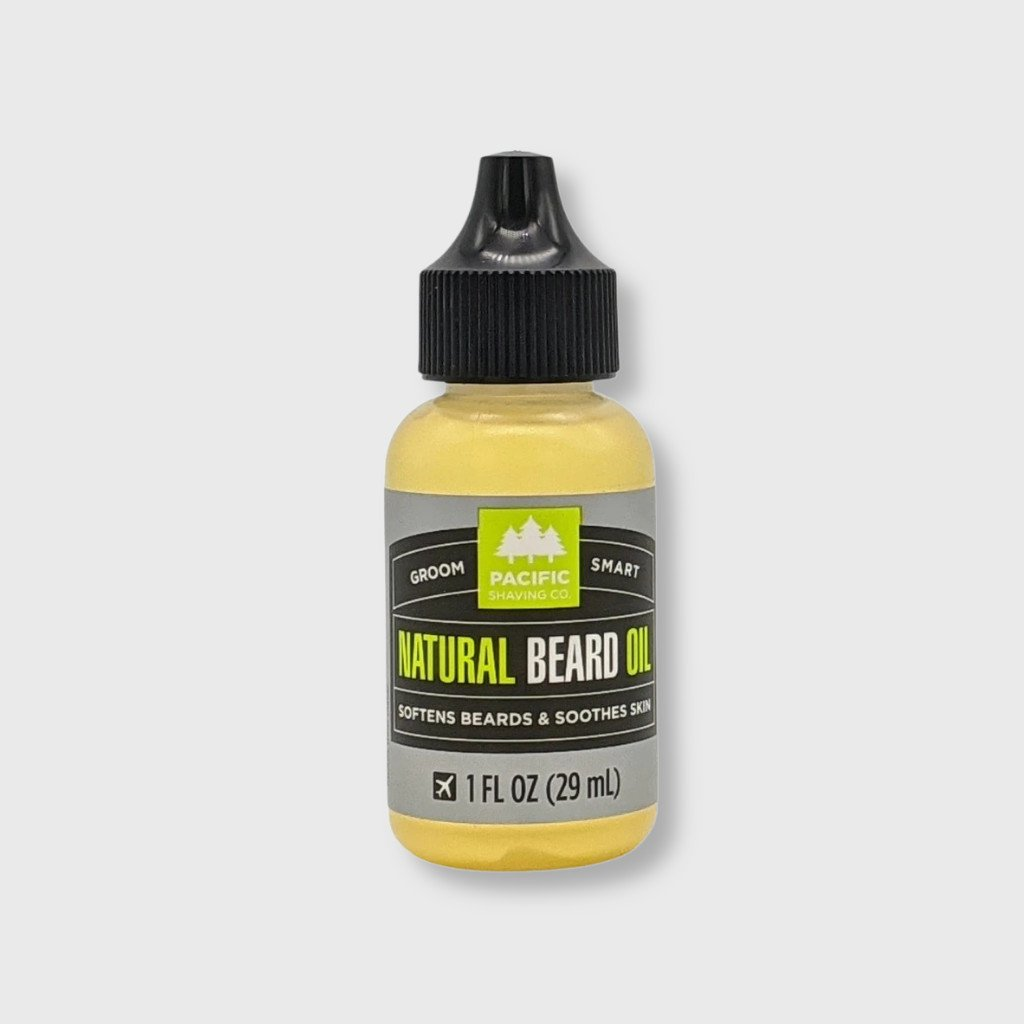 pacific shaving natural beard oil