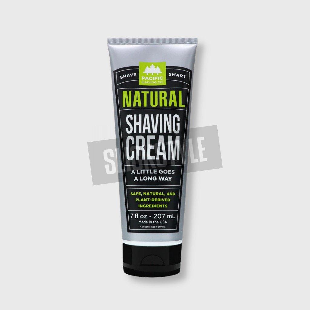 pacific shaving natural shaving cream
