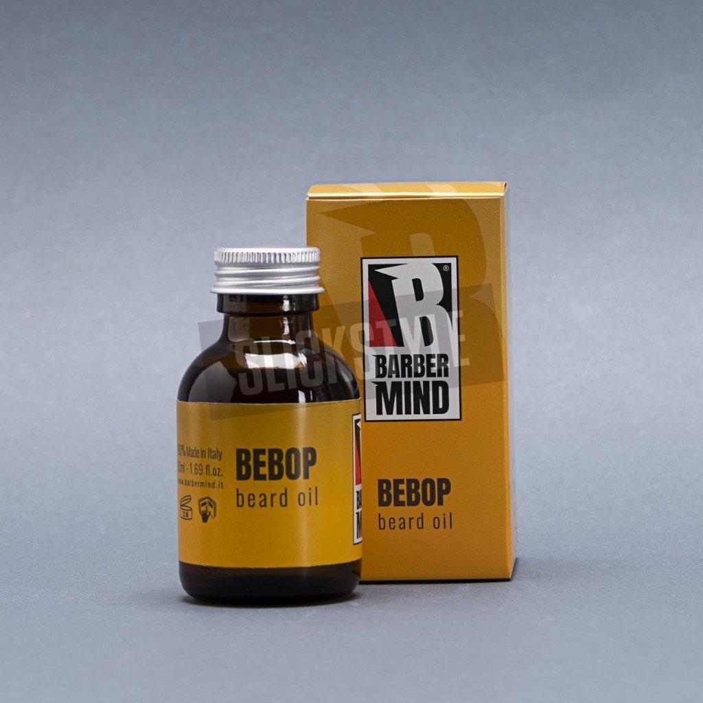 barber mind bebop beard oil
