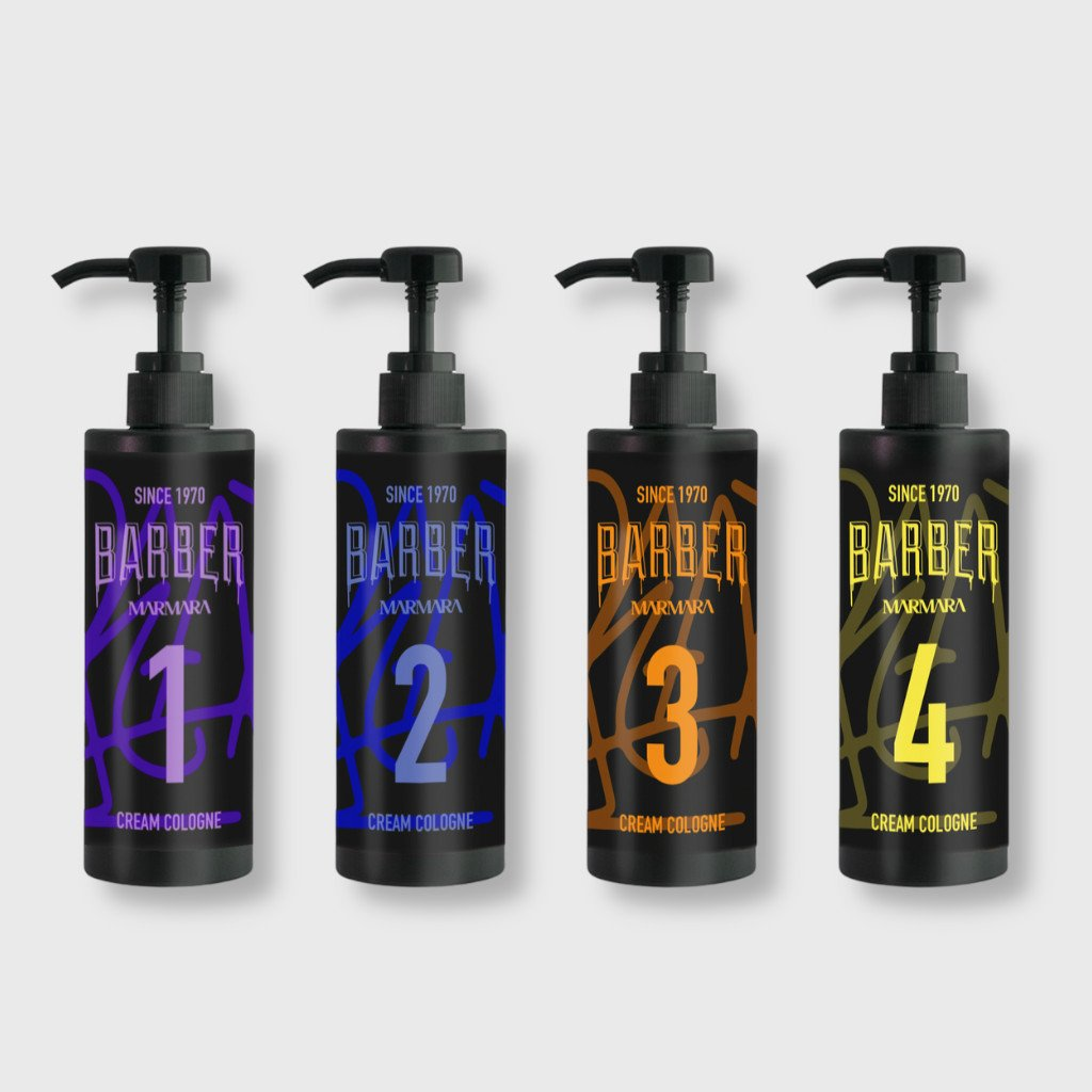 marmara barber cream cologne set