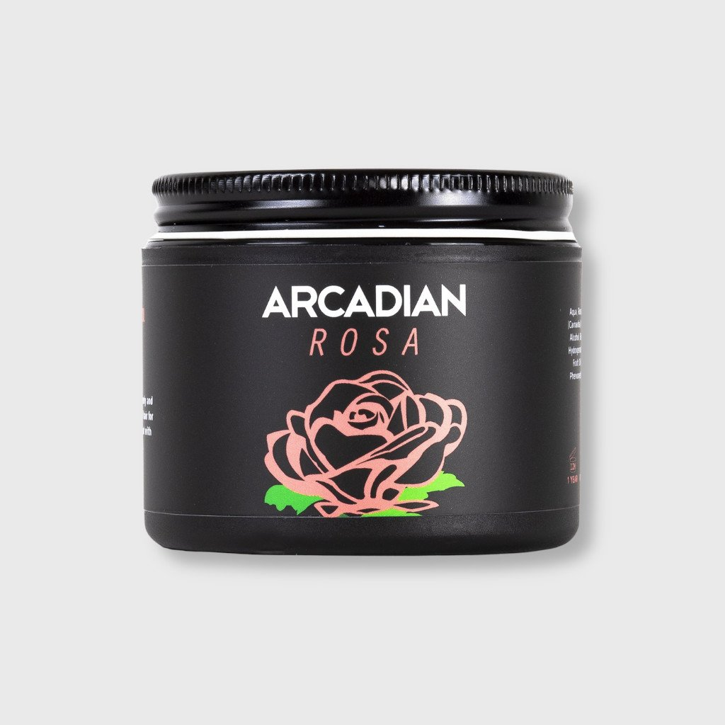 arcadian rosa creamy styling clay