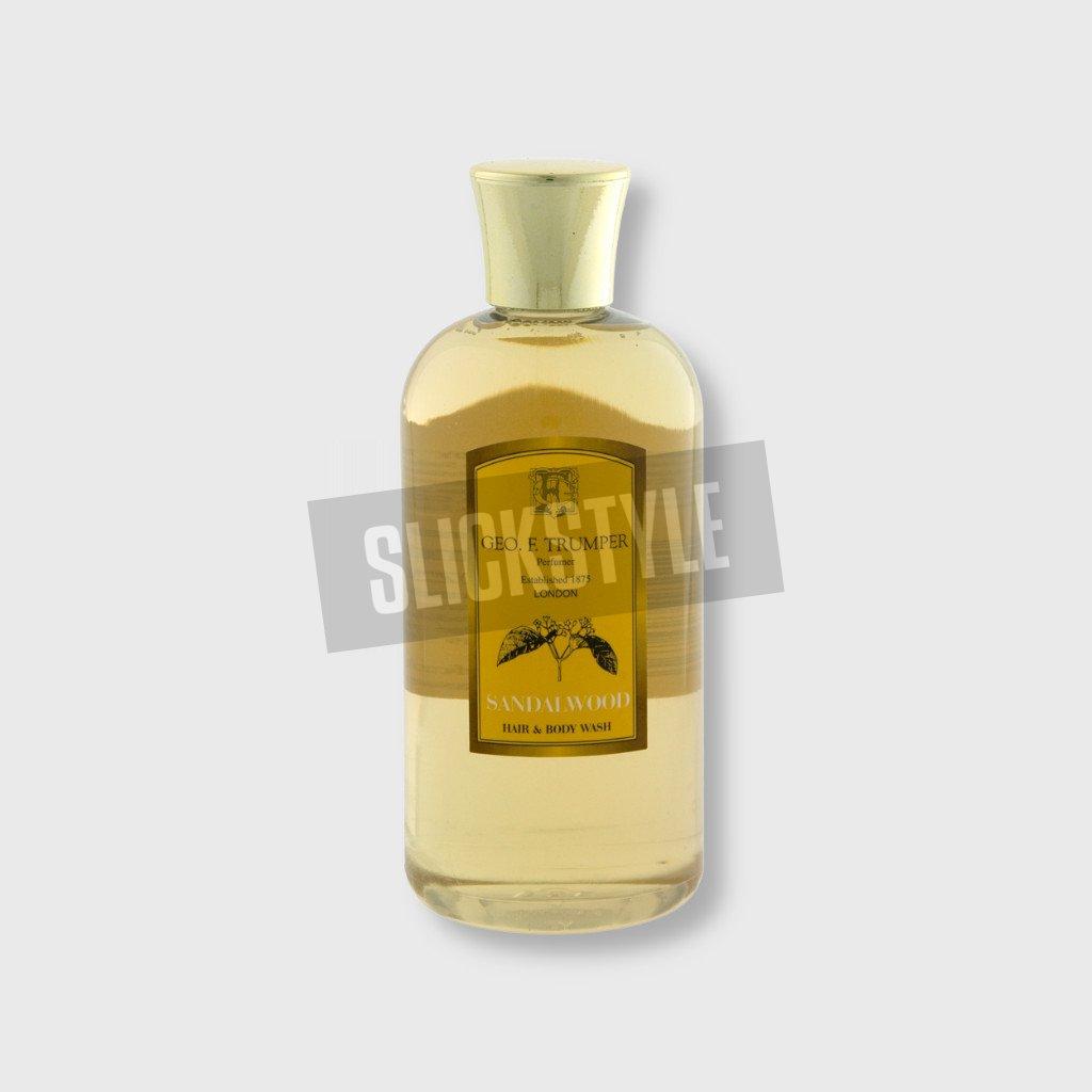 geo f trumper sandalwood hair body wash