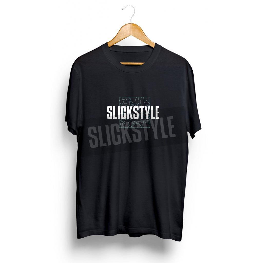 SLICKSTYLE Boxed Logo Tee