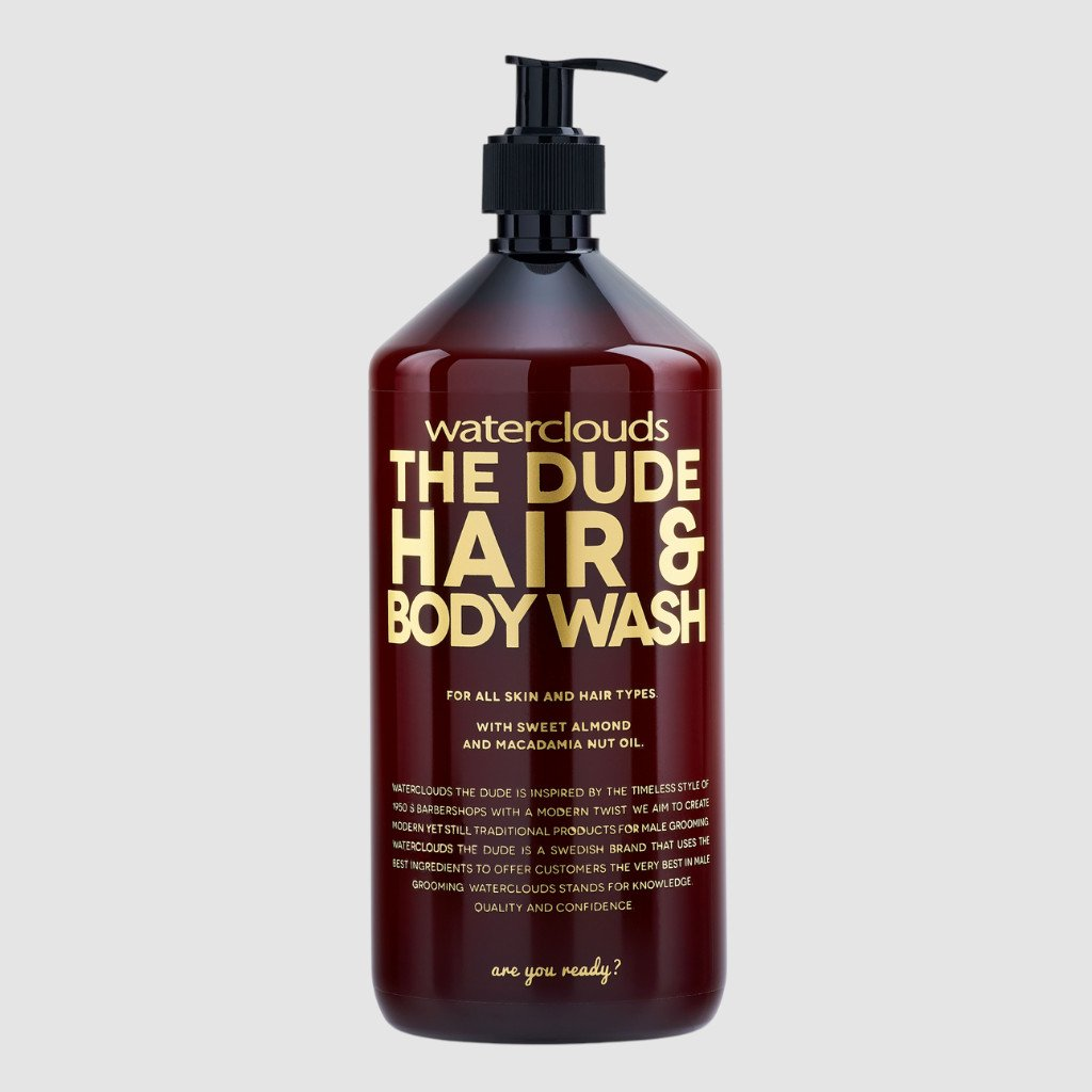 the dude hair and body wash 1000ml