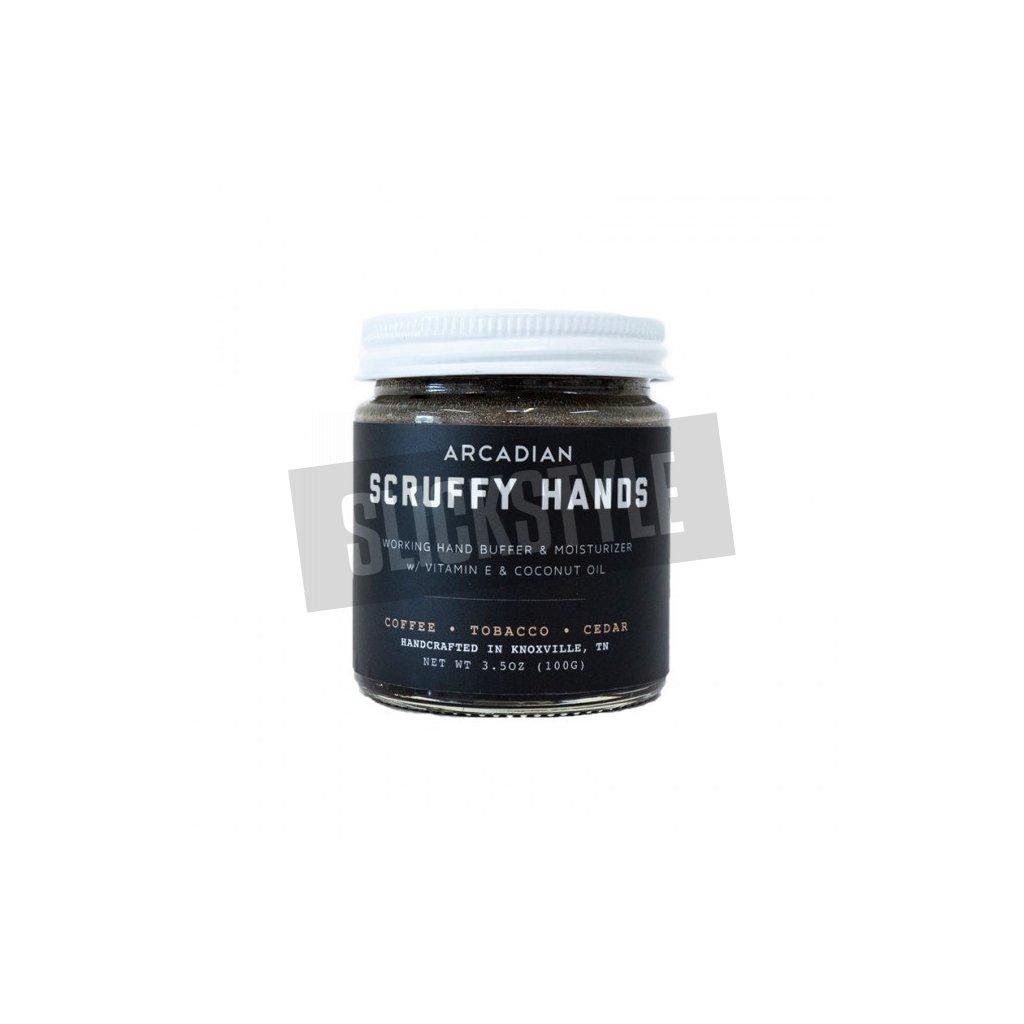 Arcadian Scruffy hands
