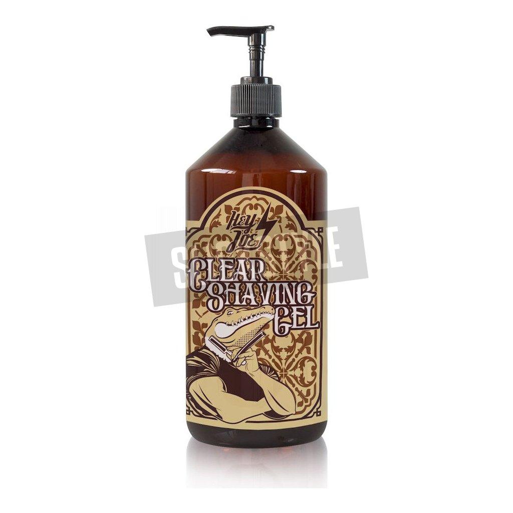 hey joe clear shaving gel xxl