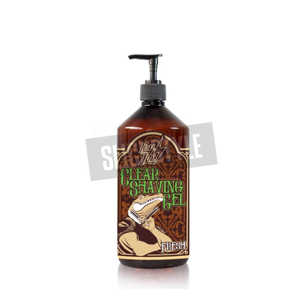 hey joe clear shaving gel fresh