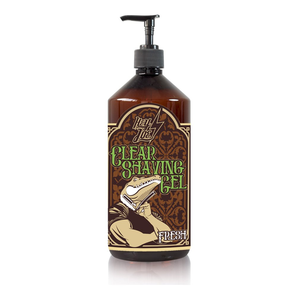 hey joe clear shaving gel fresh xxl