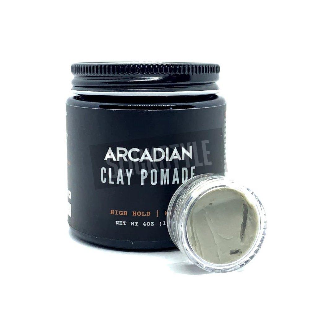Arcadian Clay Pomade sample min