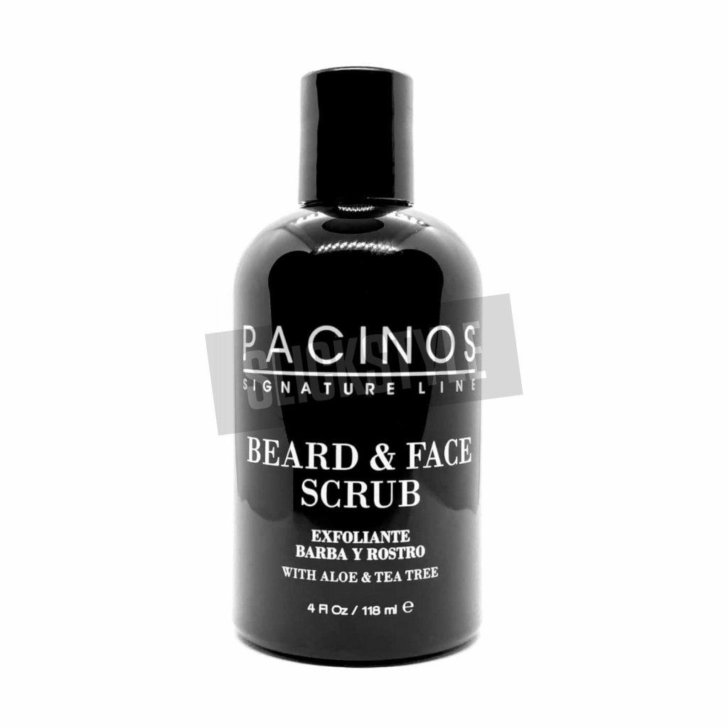 pacinos beard and face scrub novy min