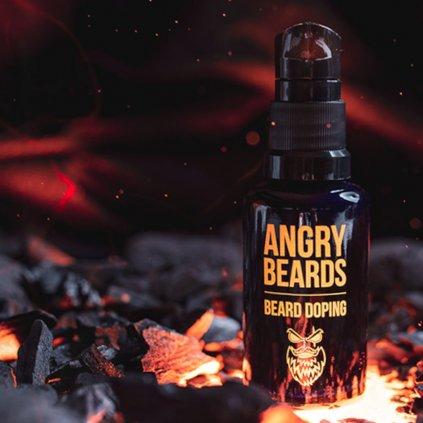 angry beards beard doping pripravek pro rust vousu min