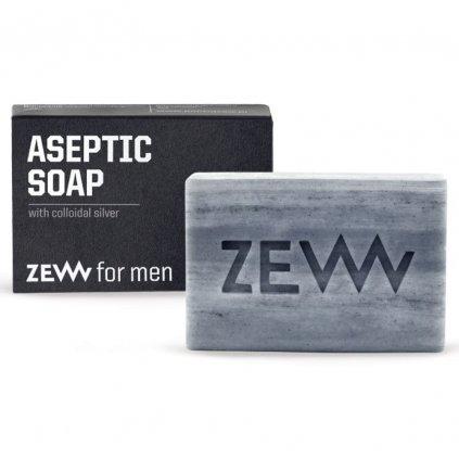 zew for men aseptic soap aspeticke antibakterialni mydlo s koloidnim stribrem min