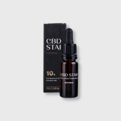 cbd star natural olej konopny olej