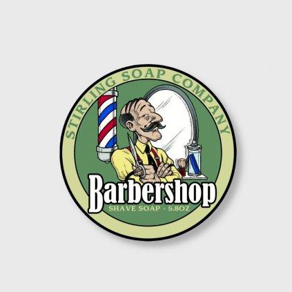 stirling soap company barbershop mydlo na holeni