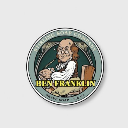 stirling soap company ben franklin mydlo na holeni 2