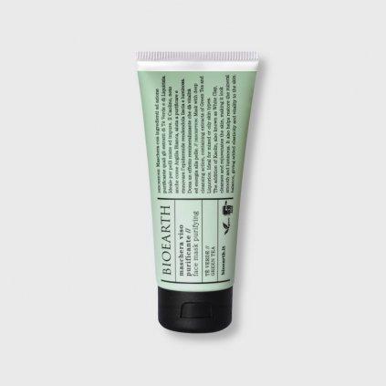 bioearth face mask purifying