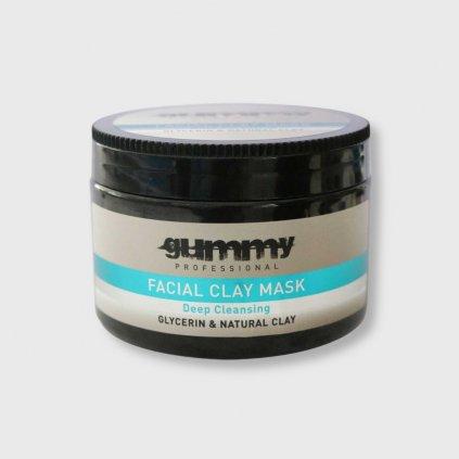 gummy facial clay mask