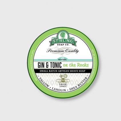 stirling soap company gin tonic soap