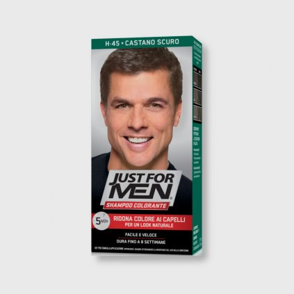 just for men color shampoo dark brown
