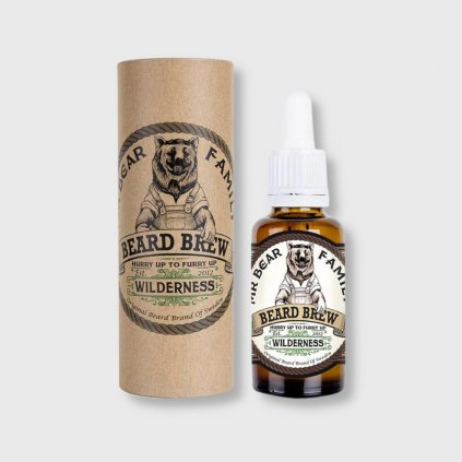 mbf wilderness beard oil