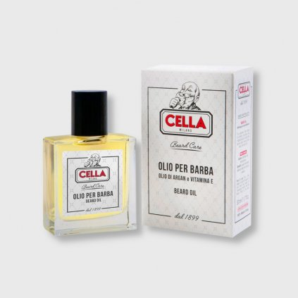 cella milano beard oil