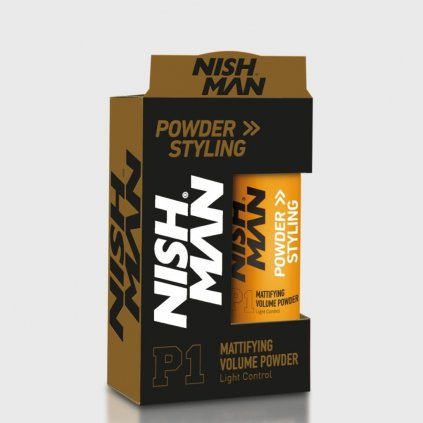 nish man styling powder