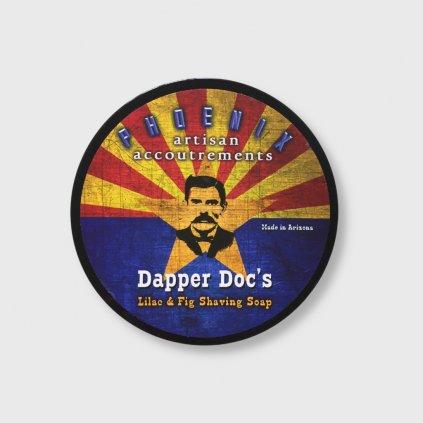 phoenix artisan dapper doc shaving soap slickstyle