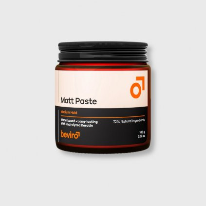 beviro matt paste medium hold 100g