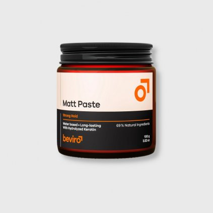 beviro matt paste strong hold 100g