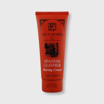 geo f trumper spanish leather shaving cream krem na holeni 75g