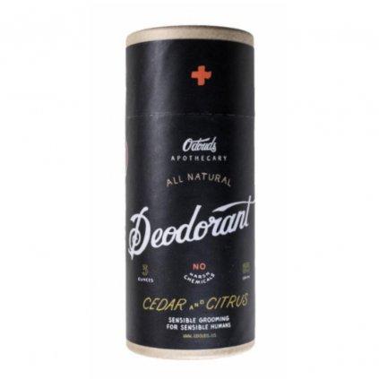 odouds deodorant citrus cedar new