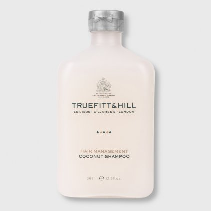 truefitt and hill hair management coconut shampoo 365ml