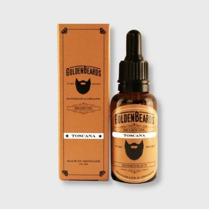 golden beards toscana beard oil