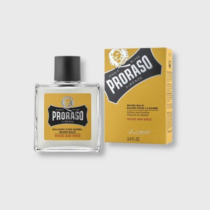 proraso wood and spice balzam na vousy 100ml