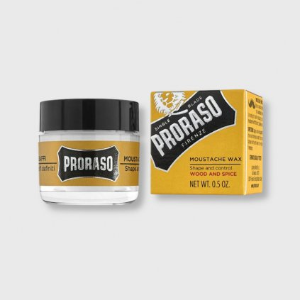 proraso wood and spice vosk na knir