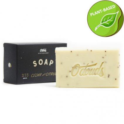 odouds cedar citrus soap new