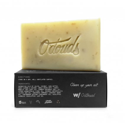 odouds bay rum soap tuhe mydlo new min