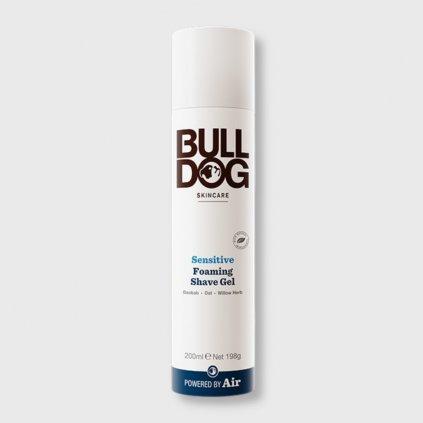 bulldog sensitive foaming shave gel