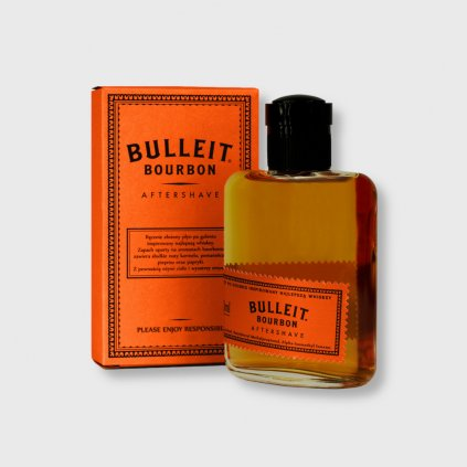 pan drwal bulleit bourbon aftershave